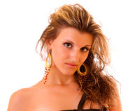 Young sexy woman isolated Royalty Free Stock Photo