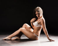 Young sexy woman Royalty Free Stock Photos