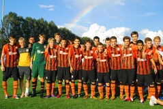 Young Shakhtar team Stock Photography