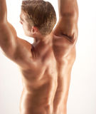 Young shape. Royalty Free Stock Photography