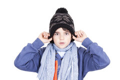 Young sheltered Stock Image