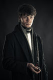 Young Sherlock Holmes Royalty Free Stock Photos