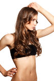 Young  shiny woman  portrait Stock Photo