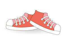 Young shoes. Design, vector illustration eps10 graphic stock illustration