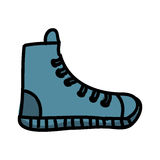 Young shoes isolated icon design. Illustration graphic royalty free illustration