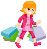 Young Shopper Royalty Free Stock Photography