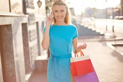 Young shopper Stock Photography