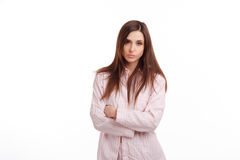Young sick woman Royalty Free Stock Photo