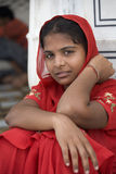 Young Sikh girl - Amritsar - India Royalty Free Stock Image