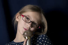 Young Singer Stock Photos