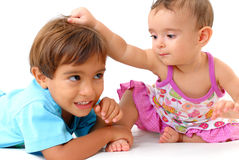 Young Sister Royalty Free Stock Images