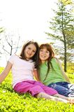 Young sisters Royalty Free Stock Photography
