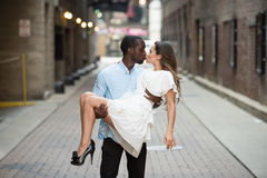 Young and sizzling couple Royalty Free Stock Photos