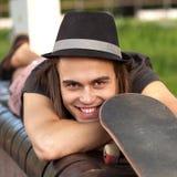 Young skateboarder Stock Photos