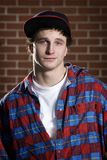 Young skateboarder portrait Royalty Free Stock Photo