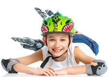 Young skater Stock Image