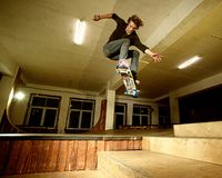Young skater Royalty Free Stock Photo
