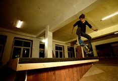 Young skater Royalty Free Stock Photography