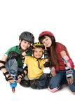 Young skaters Royalty Free Stock Photography