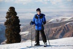Young skier Stock Photos
