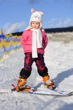 Young skier 2 Royalty Free Stock Photography