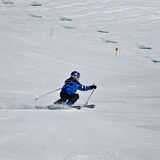 Young skier Royalty Free Stock Images