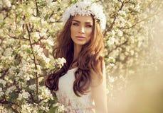 Young slavic girl Stock Image