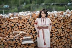 Young Slavic girl Royalty Free Stock Photography