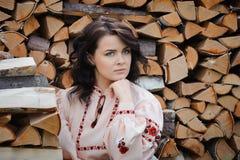Young Slavic girl Stock Photography