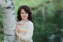 Young Slavic girl Stock Photos