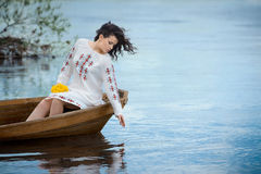 Young Slavic girl Royalty Free Stock Images