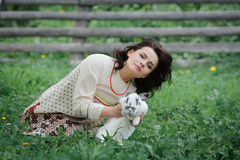 Young Slavic girl Royalty Free Stock Photo