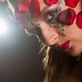 Young slim model with makeup Stock Photos