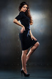 Young slim woman Royalty Free Stock Photography