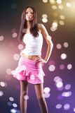 Young slim woman Royalty Free Stock Photos