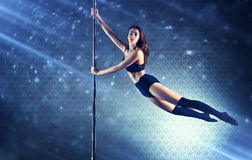 Young slim woman Stock Images