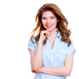 Young smiling attractive woman. Stock Image
