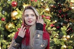 Young smiling beautiful Russian girl stock photos