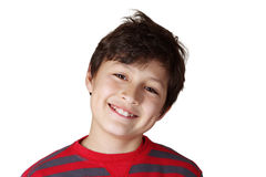 Young smiling boy Royalty Free Stock Photos