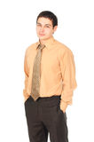 Young smiling business man Royalty Free Stock Image