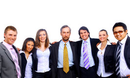 Young smiling business people Royalty Free Stock Photography