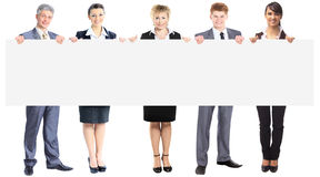 Young smiling business people. Stock Image