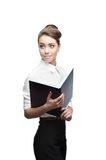 Young smiling business woman Royalty Free Stock Photo