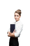 Young smiling business woman Royalty Free Stock Photos