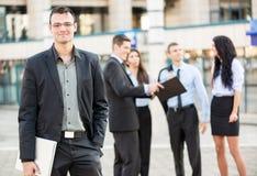 Young Smiling Businessman Stock Photos