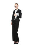 Young smiling businesswoman Royalty Free Stock Photos