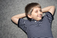 Young smiling child Stock Photo