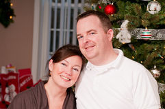 Young smiling couple Royalty Free Stock Images