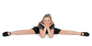 Young smiling dancer Royalty Free Stock Photography