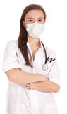 Young smiling female doctor Stock Photo